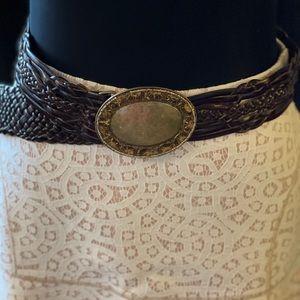 Leather western belt M/L